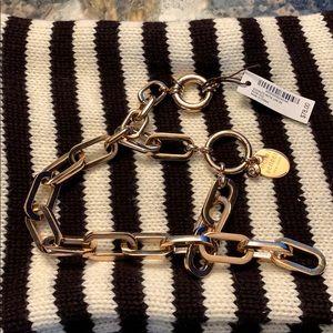 Henri Bendel Socialite Metal Link Bracelet